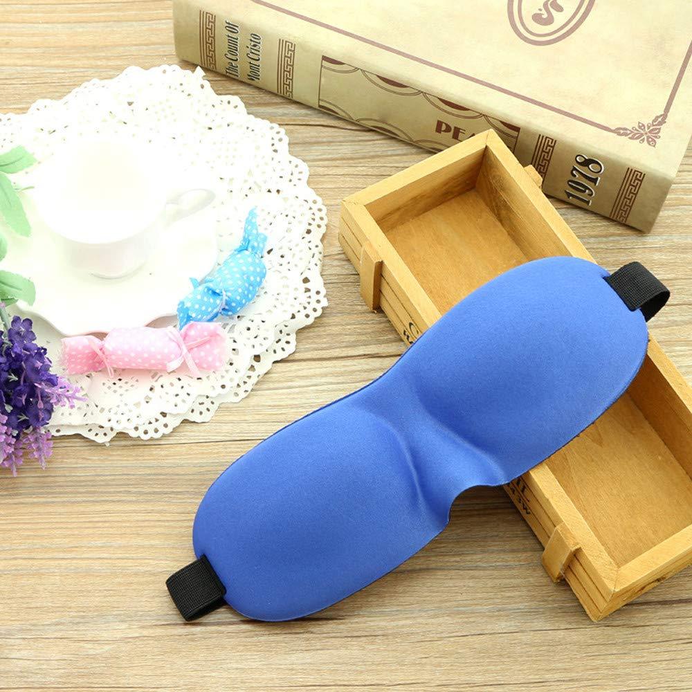 Saying Luxury 3D Eye Mask Shade Cover Rest Sleep Eyepatch Blindfold Shield Travel Sleeping, Sleep Anywhere, Anytime (B02)