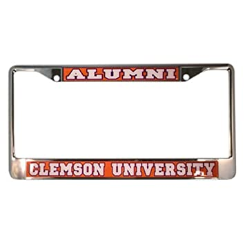 Amazon.com: Clemson University Tigers Alumni License Plate Frame ...
