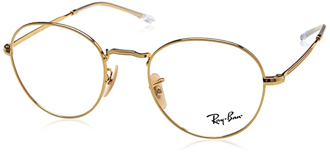 cde8c155a4a Image Unavailable. Image not available for. Color  Ray-Ban Unisex RX3582V Eyeglasses  Gold 49mm