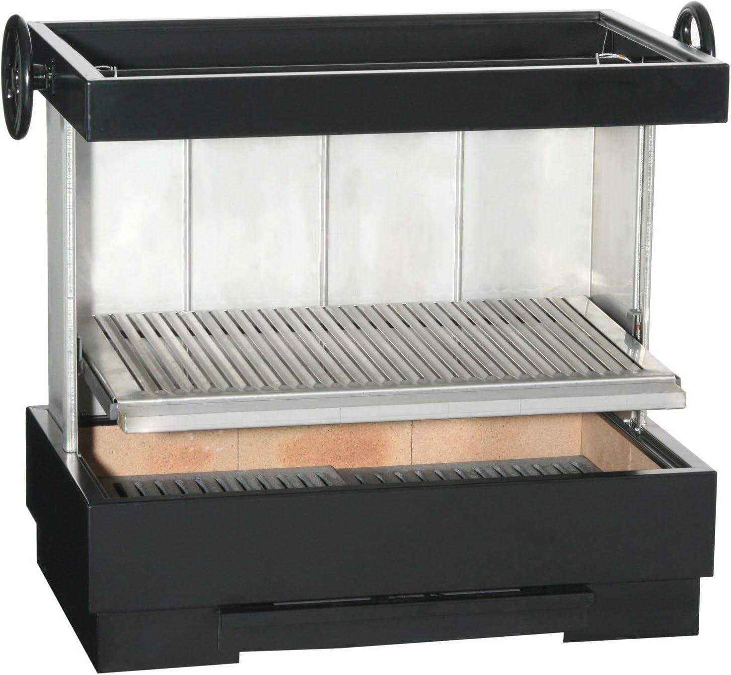 Barbacoa de Acero para Exterior Fabricada en Acero Modelo Verbena.