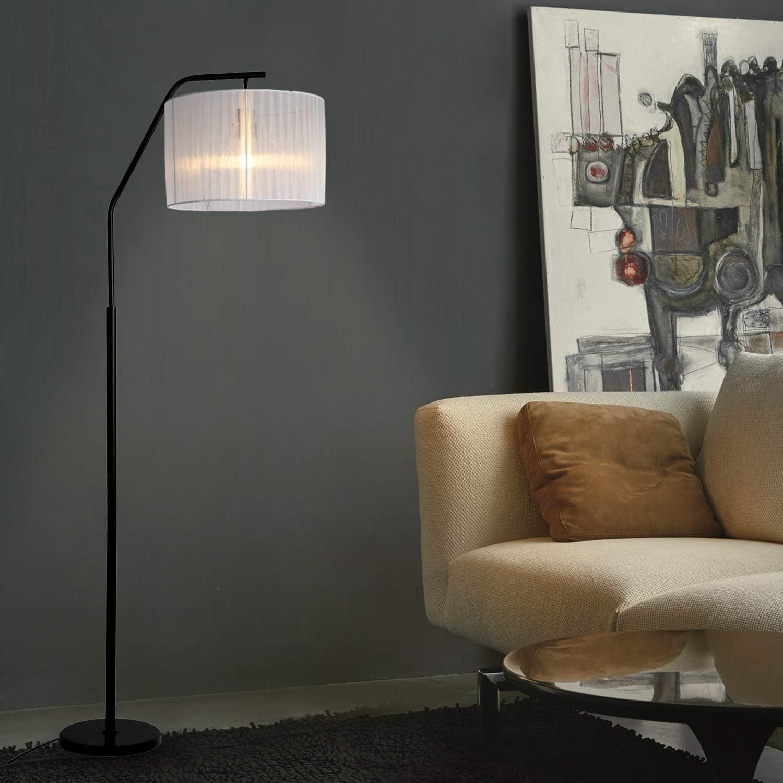 Floor Lamp for Living Room Lighting, Modern Standing Lamp, Standing Accent Lamp for Family Room, Office or Bedroom, E26 Socket, 25.59x 15.74 x 67.7 inches