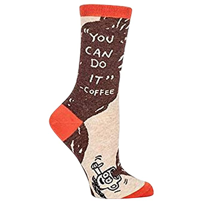 You Can Do It Coffee Womens Crew Calcetines: Amazon.es: Zapatos y complementos