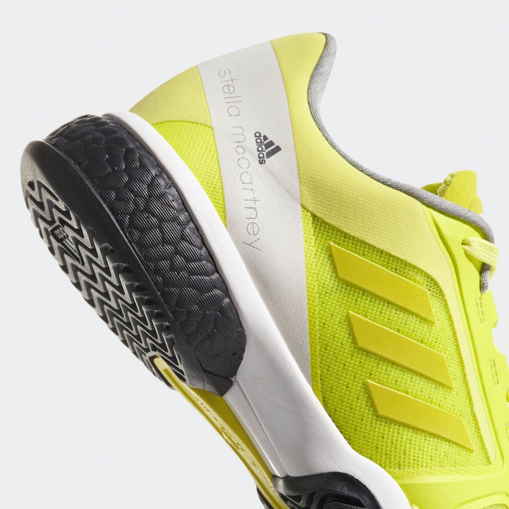 Amazon.com | adidas ASMC Barricade Boost Womens Tennis Shoes - SS18-5.5 - Yellow | Tennis & Racquet Sports