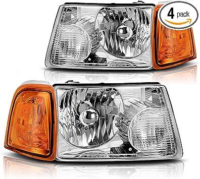 for 2001 2011 ford ranger headlights corner black signal lamps corner lights pepa bonett