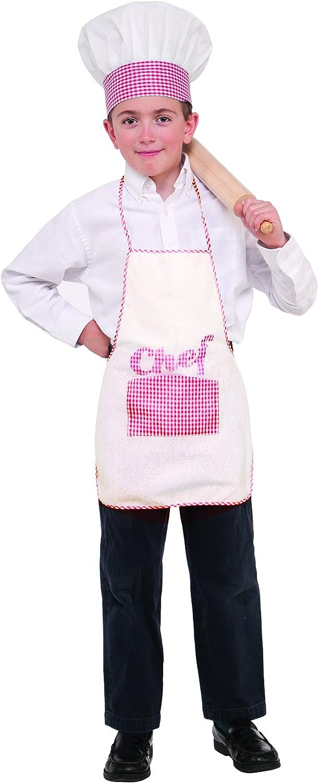 Chef Hat and Apron Child Set