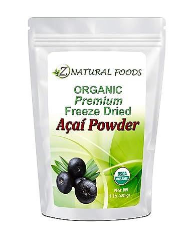 Premium Organic Acai Berry Powder 1 Lb Freeze Dried Superfood
