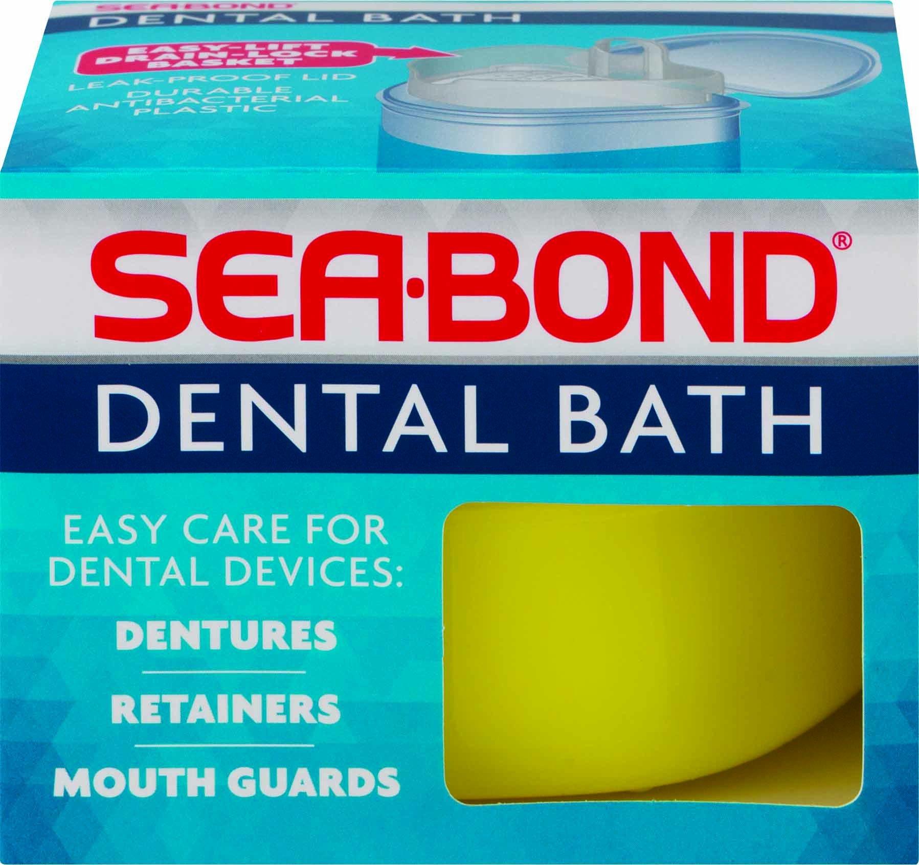 Sea-Bond DENTURE BATH BRIMMS (Pack of 36)