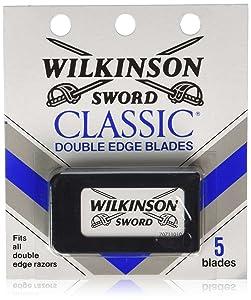 Wilkinson Sword Classic Double Edge Blades, 5 ea (Pack of 10)