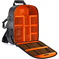 Neewer Flexible Partition Camera Padded Backpack Bag Shockproof Insert Protection for SLR DSLR Mirrorless Cameras and…