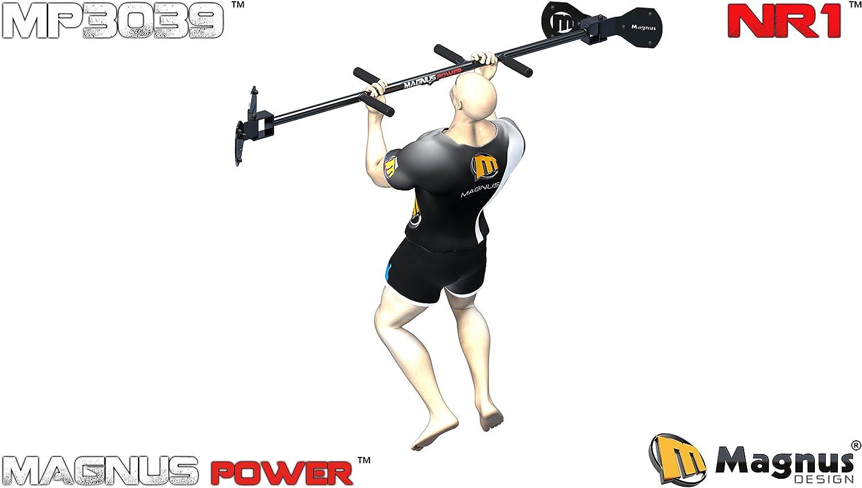 Magnus® Power MP3038 - Barra de dominadas (montaje en esquina ...