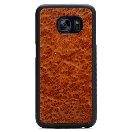 Galaxy S7 Edge Redwood Burl Wood Traveler Case By Carved Unique Real Wooden Phone Cover Rubber Bumper Fits Samsung Galaxy S7 Edge