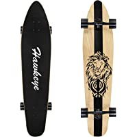 Longboards Skateboard 42 Pro Small Longboard Carving Cruising Skateboard for Adult Youth Kid Beginner Girl and Boy