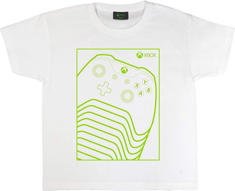 Xbox Controlador Verde Camiseta de Las Muchachas Blanco 143 ...