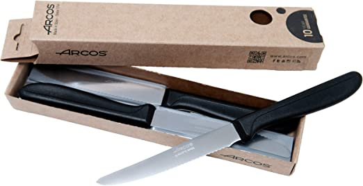 Arcos 856400 Juego de Cuchillos de Mesa, Acero Inoxidable Nitrum ...