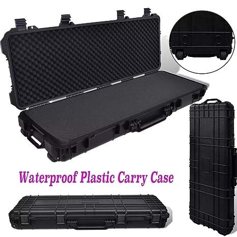 Generic Hu Gun Case - Maletín de plástico para Accesorios de Caza ...