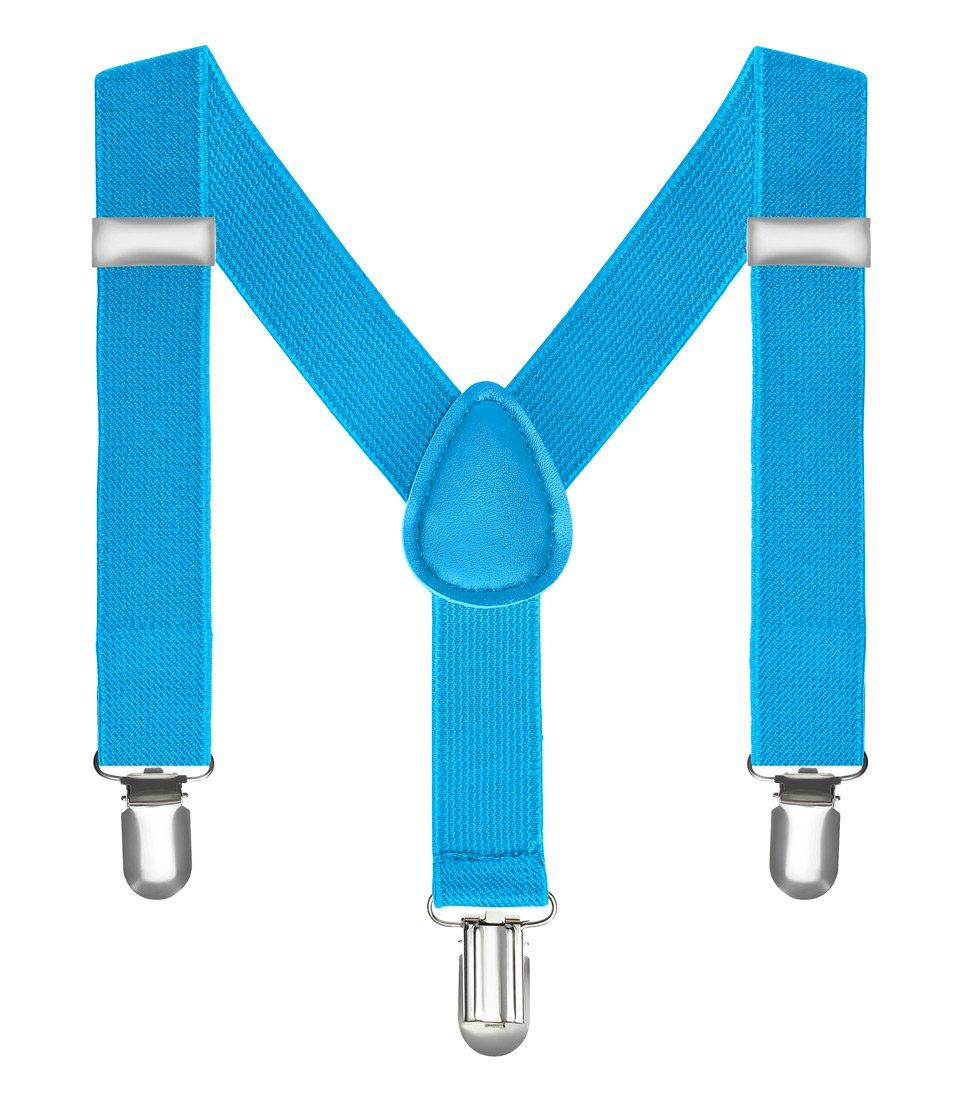 Kinderhosenträger Kinder Hosen Träger Stretch Y Form Style Clips Schmal Neon Bunt Farbig 176-1497