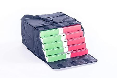Bolsas para llevar pizzas, de 39,37x39,37x24,13 cm, bolsa térmica T12