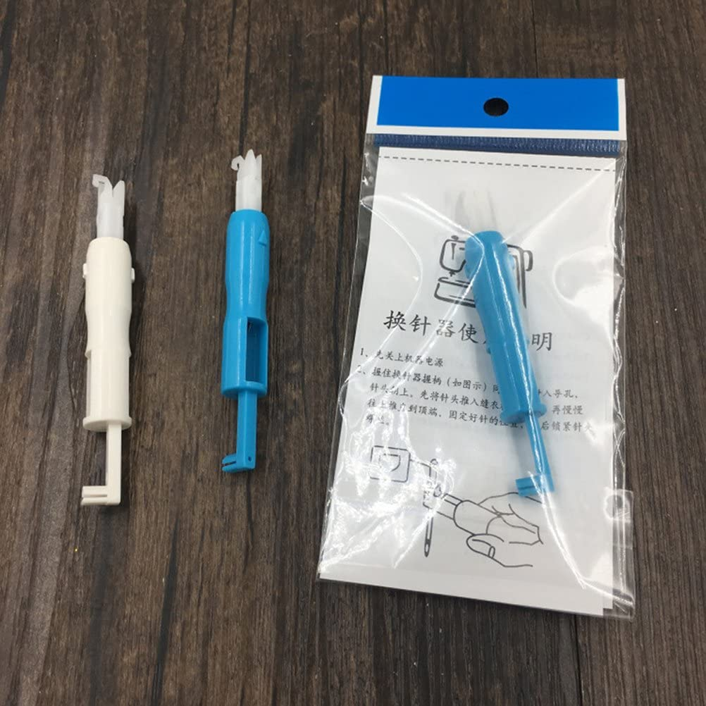 ULTNICE Aguja de Coser insertador Needle Threading Tool para ...