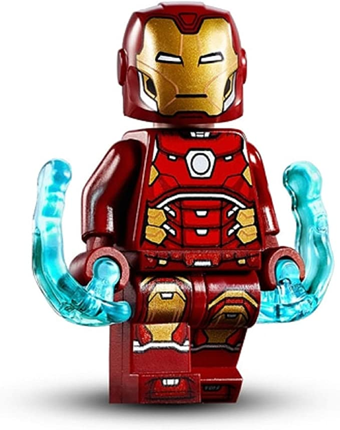 Lego Invincible Iron Man Keychain Marvel Superheros Avengers