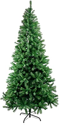 AICEDA 210CM Classic Pine Christmas Tree Artificial Realistic Natural Branches