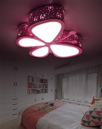 Kinderzimmer deckenlampe schmetterling bibkunstschuur - Lampe jugendzimmer madchen ...