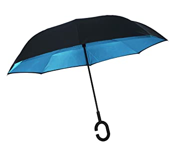 Paraguas invertido Plegable ADVERS Inverso Reverso Doble Capa ...