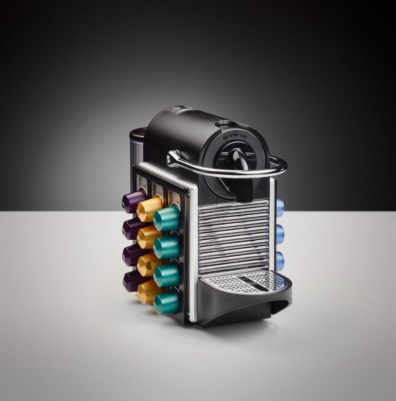 U-CAP, el portacápsulas/dispensador de cápsulas para Nespresso® (modelo: Nespresso PIXIE/PIXIE CLIPS, negro): Amazon.es: Hogar