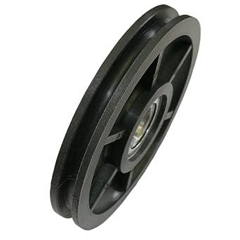 Seilrolle Kunststoff 100 mm Seil Ø 5 mm DO: Amazon.de: Gewerbe ...