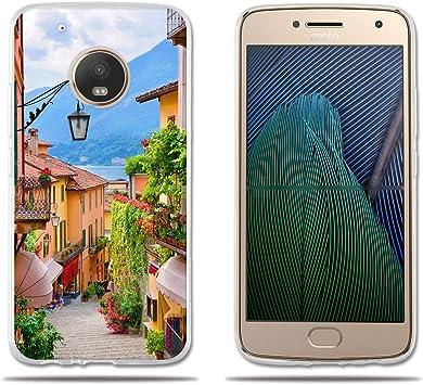 FUBAODA,Funda Motorola Moto G5 Plus,Carcasa de Silicona,Suave con ...