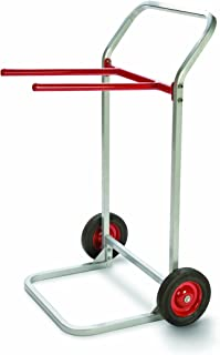 """product image for Raymond 750 Folding Chair Dolly with 8"""" x 1-3/4"""" Skid-Resistant Rubber Wheels, 180 lbs Capacity, 27-3/4"""" Width x 43"""" Height x 22-1/2"""" Depth"""