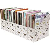 Evelots 6 Magazine/File Holders & Labels, Cat Or Dog Styles,Dogs