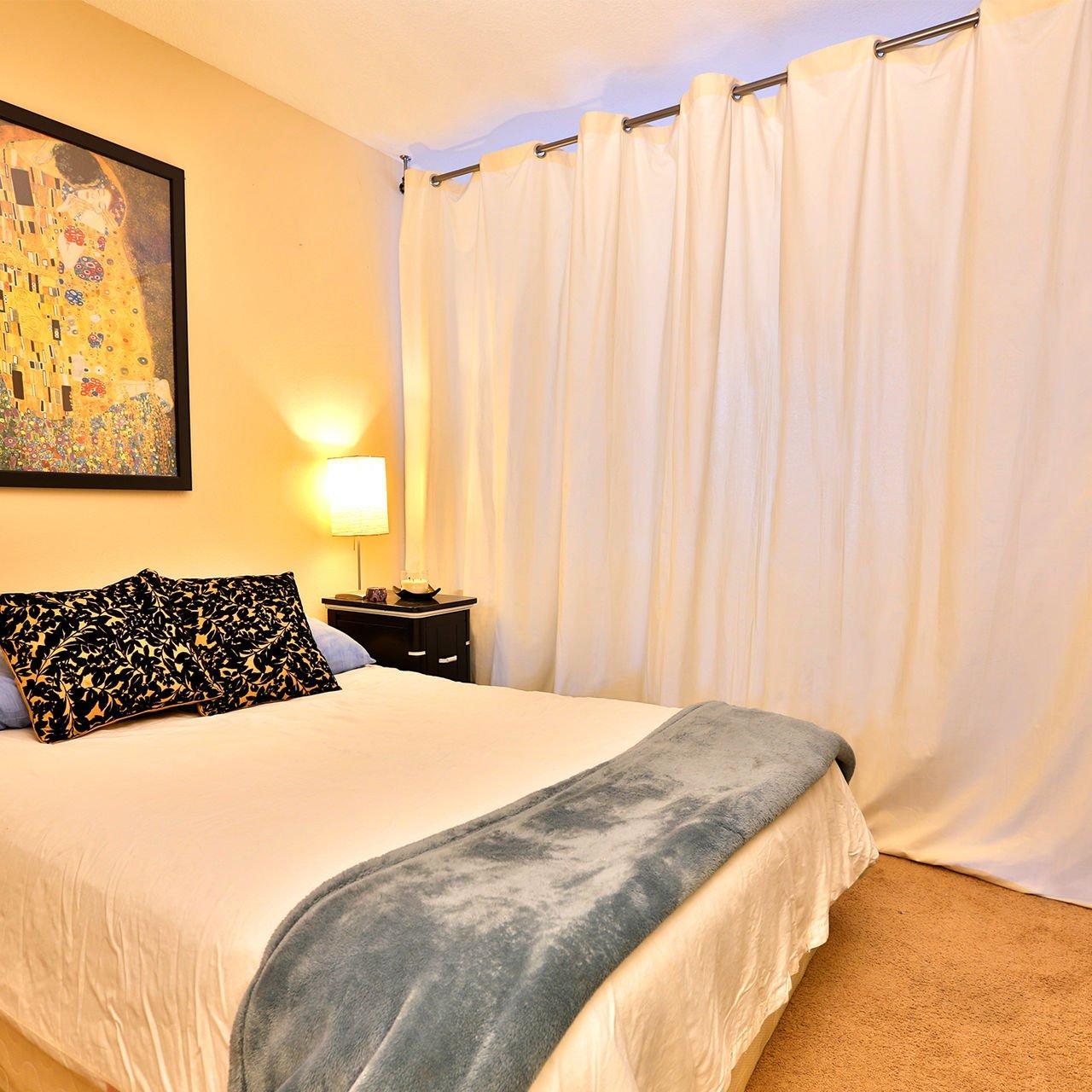 Amazon.com: RoomDividersNow Muslin Room Divider Curtain, 9ft Tall x ...