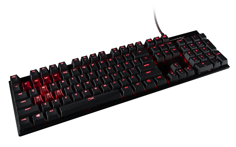 Kingston HyperX Alloy FPS Pro Mechanical Gaming Keyboard (US Layout) cherry blue HX-KB4BL1-US/WW