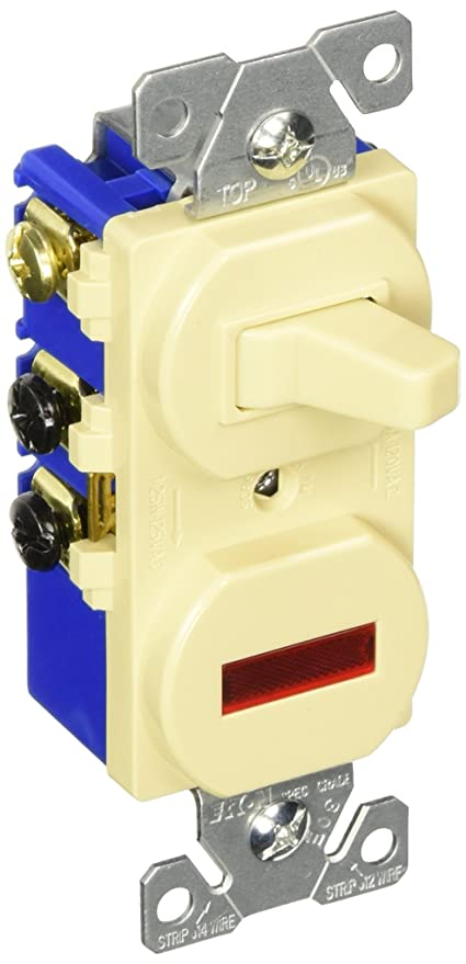 eaton 294v 15 amp 120v combination 3 way switch & pilot light, ivory 4-way light switch wiring diagram eaton 294v 15 amp 120v combination 3 way switch & pilot light, ivory