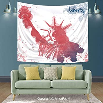 American flag tapestry USA flag wall hanging magical thinking tapestries throw