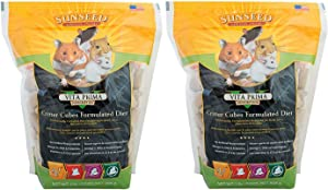 Sunseed Critter Cubes Food [Set of 2] Size: 2 Pound