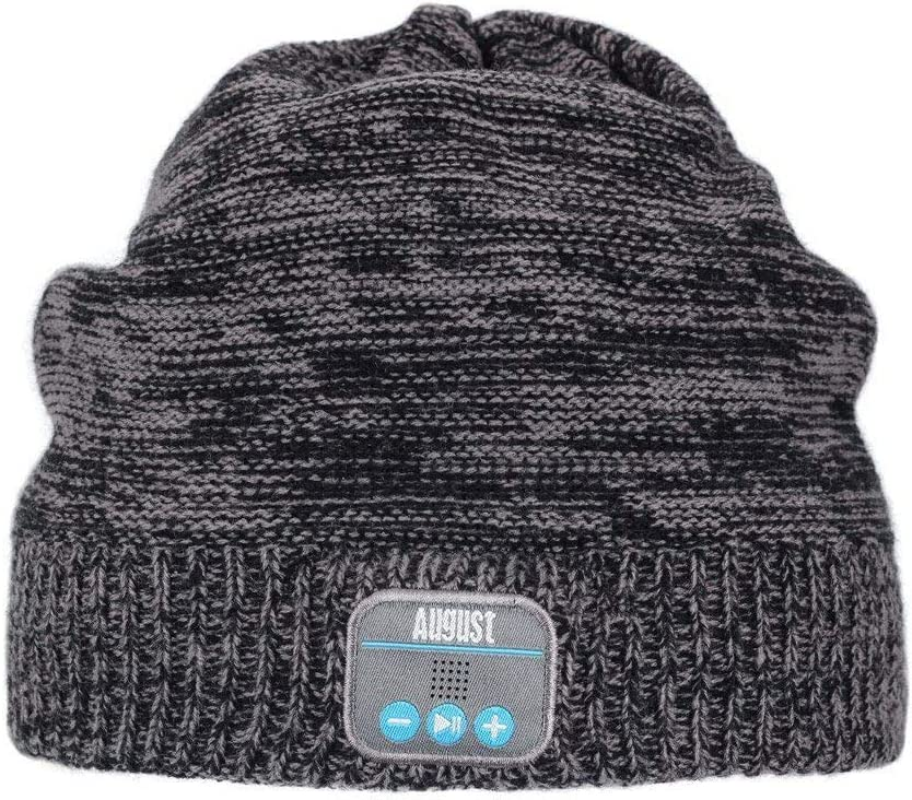 Bluetooth Beanie Headset, Wireless Stereo Microphone Headphone Winter Hat EPA20D
