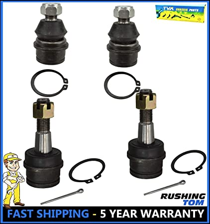Amazon com: New 4Pc Upper & Lower Ball Joints For Dana 44