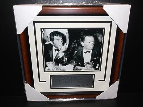 Frank Sinatra Dean Martin Framed 8X10 Photo Drinking Quote I feel ...