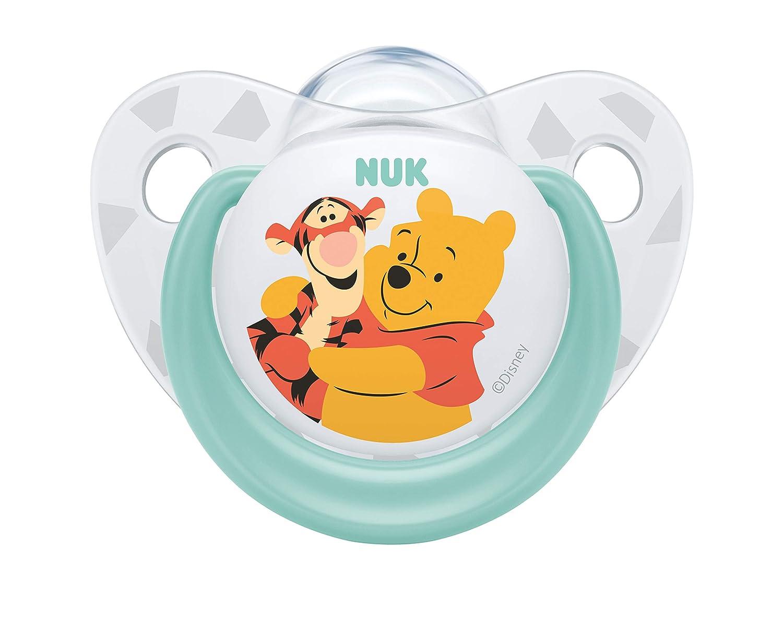 Chupete de silicona de la marca Nuk, con decoración de ...