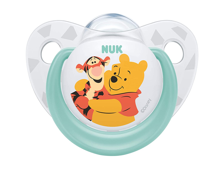 Amazon.com: NUK Disney Winnie The Pooh silicona Chupete ...
