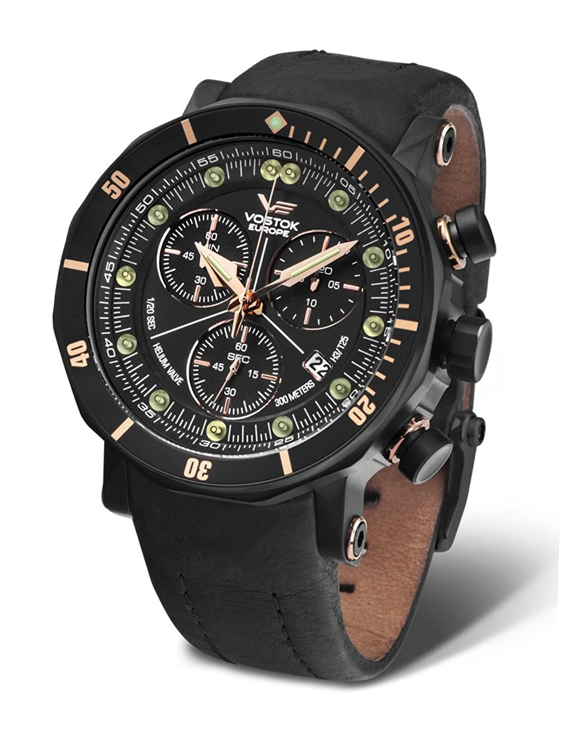 Vostok Europe Herrenuhr Lunokhod 2 Grand Chrono 6S30-6203211