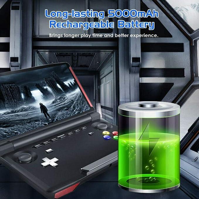 XuBa Consola de Juegos portátil Powkiddy X18 Andriod Pantalla de ...