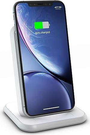 ZENS Qi certificado Aluminium Wireless Charger Stand Blanco ...