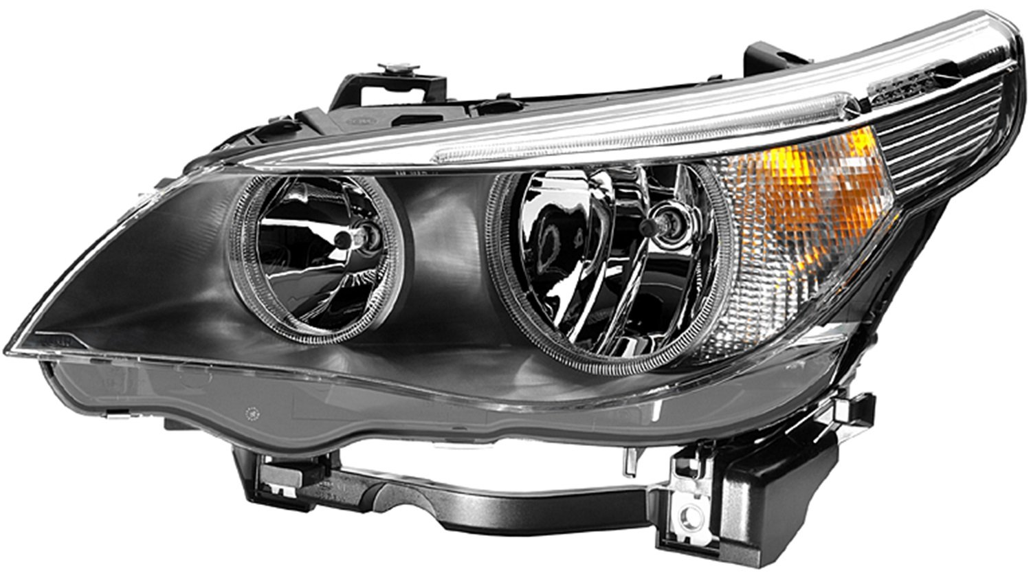 Hella 008673111 Bmw 5 Series E60 E61 Driver Side Headlight Assembly Lamp Wiring Harness Auxiliary Lights Automotive