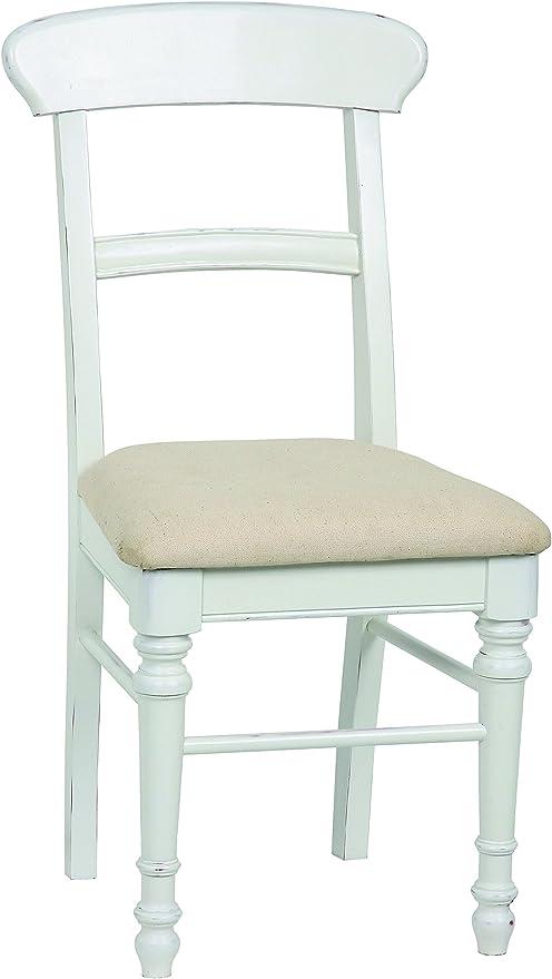Sedie In Legno Laccate Bianco.Sit Mobel 7012 10 Country Corner Set Di 2 Sedie In Legno