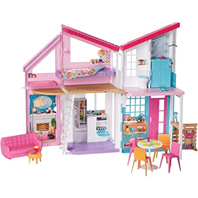 Barbie Malibu House Playset: Toys & Games