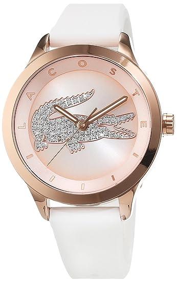 Lacoste Mujer-Reloj analógico de Cuarzo Silicona Victoria Small 2000915