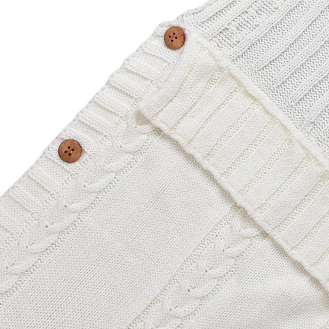 DORA Pocket recién nacidos Chaqueta de punto para saco de dormir Baby Wrap Swaddle techo marrón marrón Talla:M: Amazon.es: Bebé