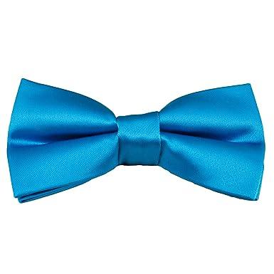 9bdc5df5e836 Plain Electric Blue Men's Bow Tie: Amazon.co.uk: Clothing